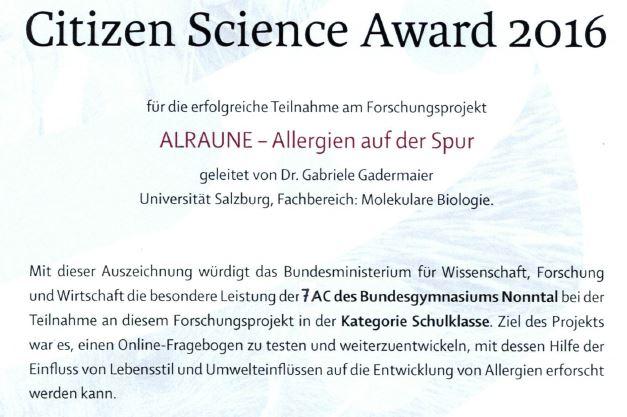 citizen-science-award